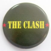 The Clash - 'Army Logo' 32mm Badge